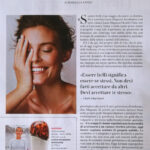 INTERVISTA A LUCIA MAGNANI DI VANITY FAIR - FELICI NELLA PROPRIA PELLE