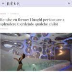 """REVEBEAUTY.IT - Intervista a Lucia Magnani """"Remise en forme: i luoghi per tornare a spendere (perdendo qualche chilo)"""